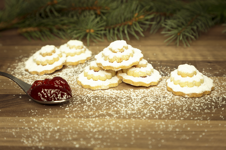 Weihnachtsgebäck Kaufen.Butterterrassen 150g Feine Gefüllte Butterkekse